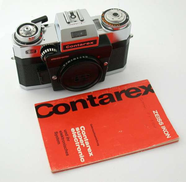 ZEISS IKON Contarex body Super Electronic SE NO NUMBER look