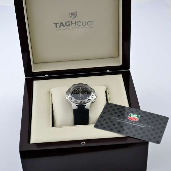 TAG HEUER Professional 200m Chronograph Stahl 40mm TOP