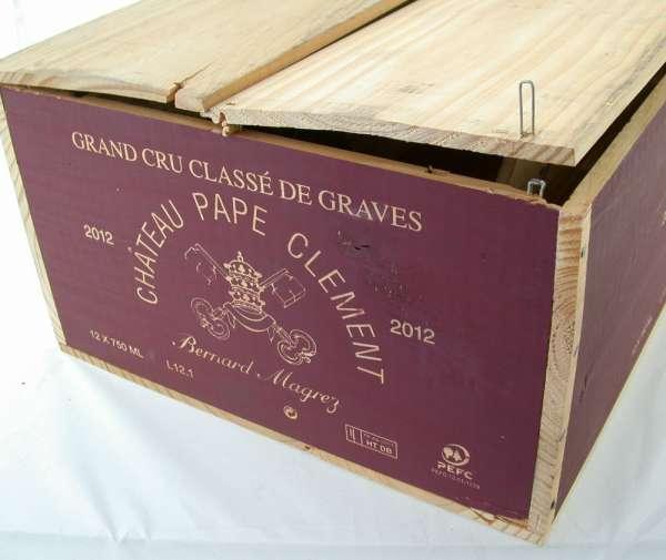 12x 0,75l CHATEAU Pape Clement Magrez GCC de Graves 2012 Rotwein OHK