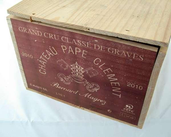 6x 0,75l CHATEAU Pape Clement Magrez GCC de Graves 2010 Rotwein OHK