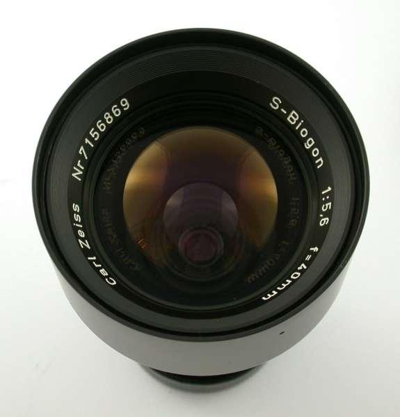 Carl ZEISS S-Biogon 5,6/40 40 40mm F5,6 mint fast neu