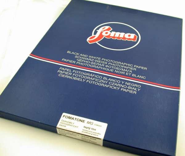 "200x Foto-Papier photo paper FOMATONE MG Classic 131 warm tone glossy 12x16"" /20"