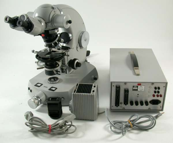 Zeiss West Germany Phomi III Binokular Mikroskop professionell