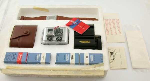 Concava TESSINA 35 full set 35mm subminiature Switzerland DREAM LOOK