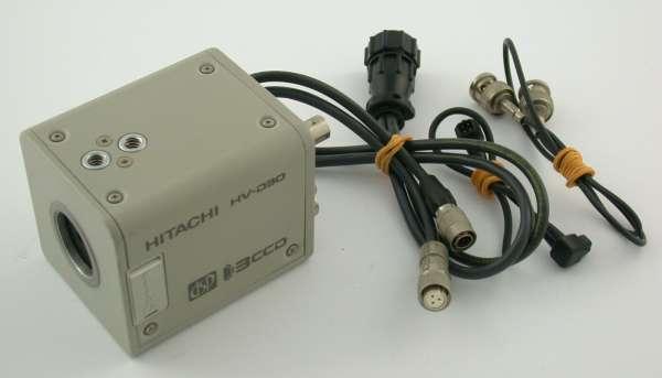 HITACHI HV-D30 Video Kamera camera 3CCD c-mount DSP color NTSC