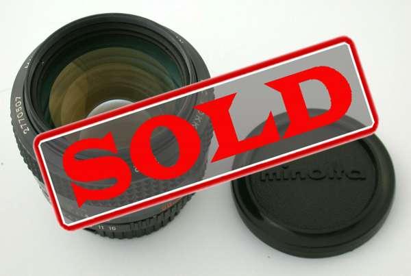 MINOLTA MC MD Rokkor 1,2/58 58mm F1,2