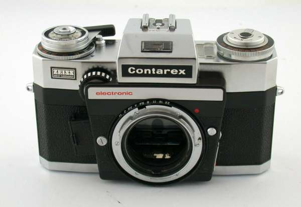 ZEISS IKON Contarex SE Super Electronic classic prime slr body AS IS