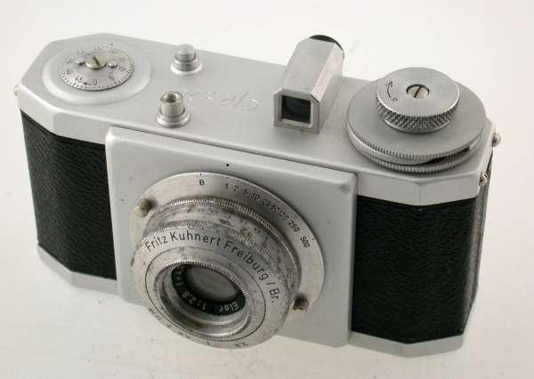 Fritz KUHNERT EFKA 24 1947 24x24mm Elor 2,8-4cm Futura Freiburg rare