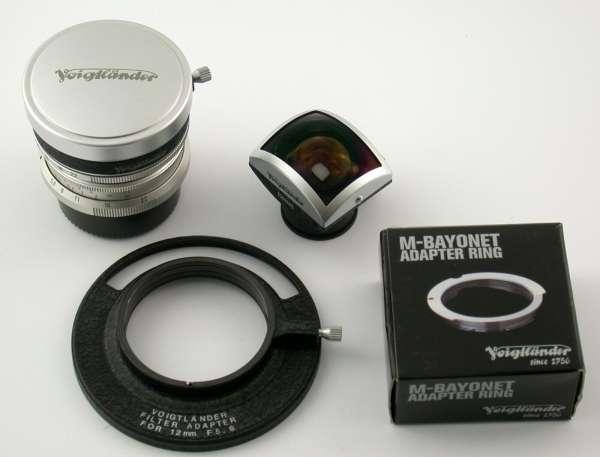 VOIGTLÄNDER Ultra-Wide-Heliar 5,6/12 12 12mm 5,6 M-39 Leica M LTM top complete
