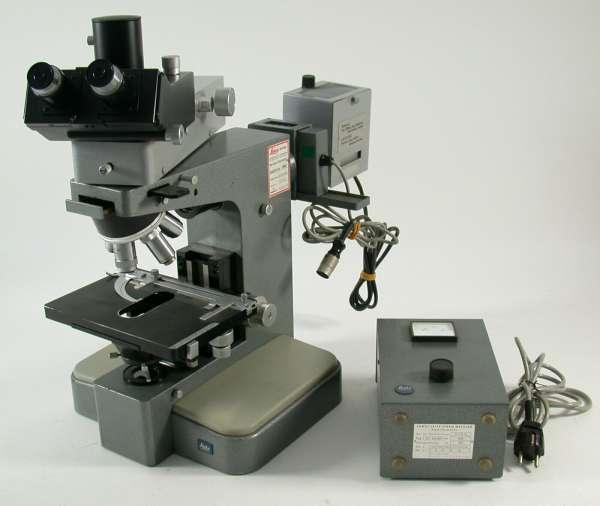 LEITZ Orthoplan microscope Leica binocular laboratory
