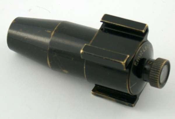 VISOR Leica Schwarzlack Torpedo Sucher 1931 3,5 5 13,5 cm Leitz 1.Ver
