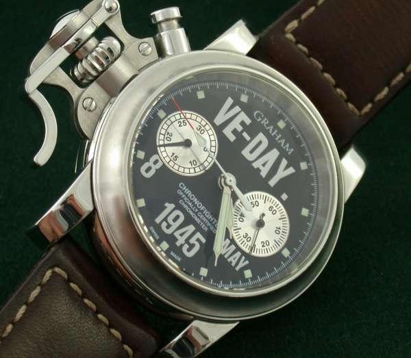 Graham VE-Day Chronograph Chronofighter Nr. 000/100 limitierte Edition selten