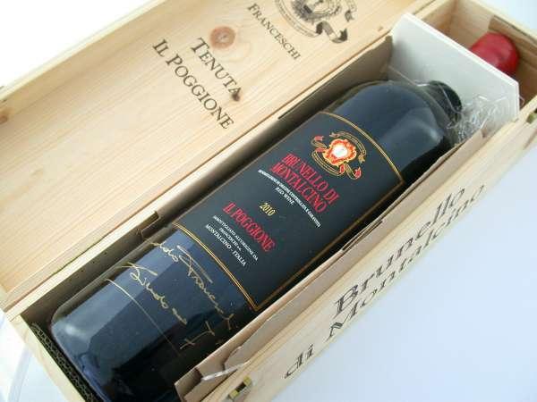 Brunello Montalcino TENUTA IL POGGIONE 2010 double magnum 3 L. red wine