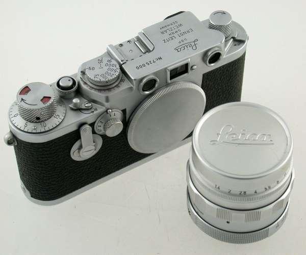 Leica Leitz IIIf 725000 Wetzlar Germany + summicron m39