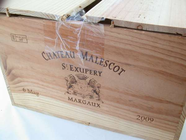 2x 1,5l Magnum CHATEAU Malescot St. Exupery Margaux 2009 Rotwein OHK