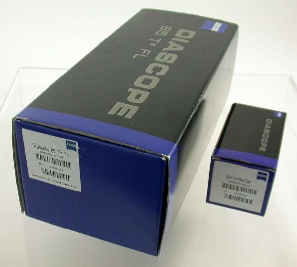 Zeiss Diascope 85 T* FL Spektiv Vario-Okular 20-60x Demogerät