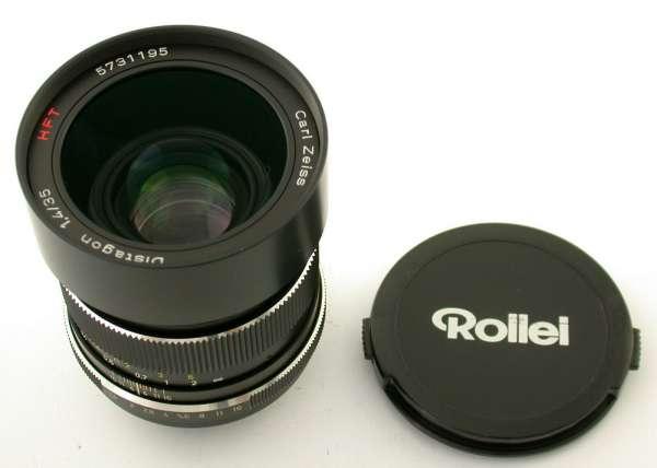 ROLLEI Zeiss Distagon HFT 1,4/35 35mm F1,4 SL350 SL35 Germany