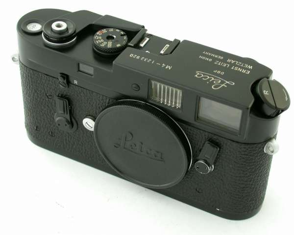 LEICA M4 body classic rangefinder black paint