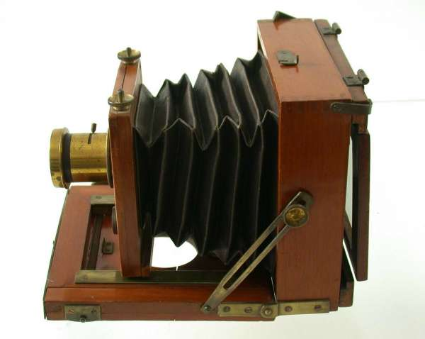 9x12 wooden field camera antique sweet brass lens
