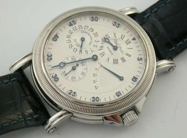 Paul Picot Chronometer Reserve Automatik Stahl Atelier 1100