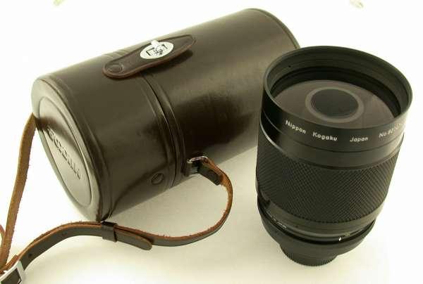NIKON Reflex-Nikkor F8/500 mm prime lens mint complete NKK