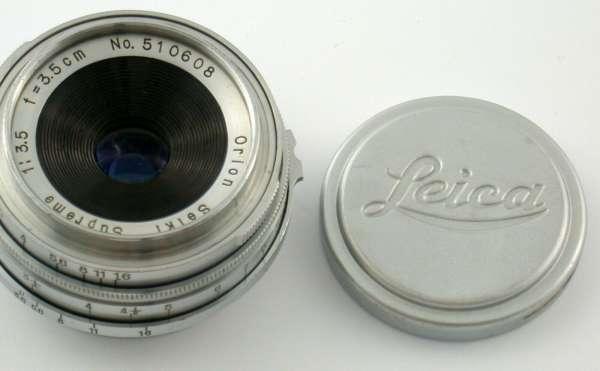 Orion Seiki Supreme Weitwinkel Objektiv 3,5/35 mm Nr. 510608