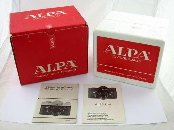 OVP Verpackung für ALPA 11si 11 Si Macro-Switar 1,9/50 50mm F1,9 /21