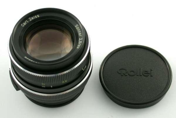 ROLLEI Zeiss Sonnar 2,8/85 85 85mm F2,8 SL350 SL35 lens Germany