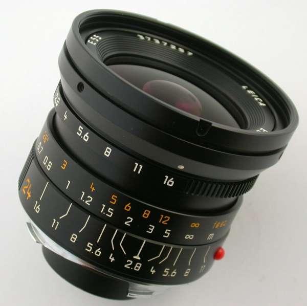 LEICA Elmarit M asph F2,8/24mm 11878 3737xxx adapt. A7 fast neu