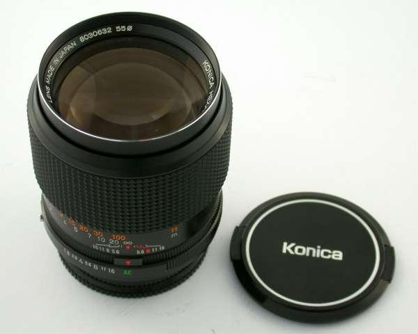 KONICA AR Hexanon 1,8/85 85 85mm F1,8 wie neu