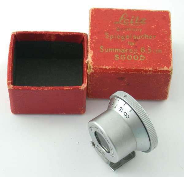 LEICA finder bright line Summarex 85 85mm SGOOD TOP box