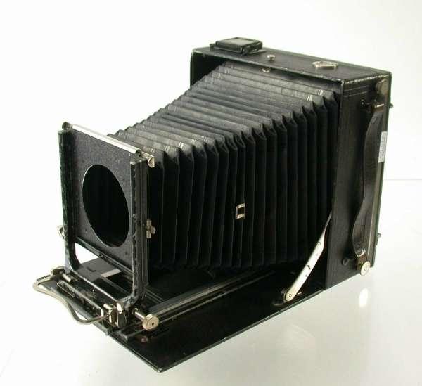LINHOF 5x7 13x18 Klapp Kamera Technika Präzision