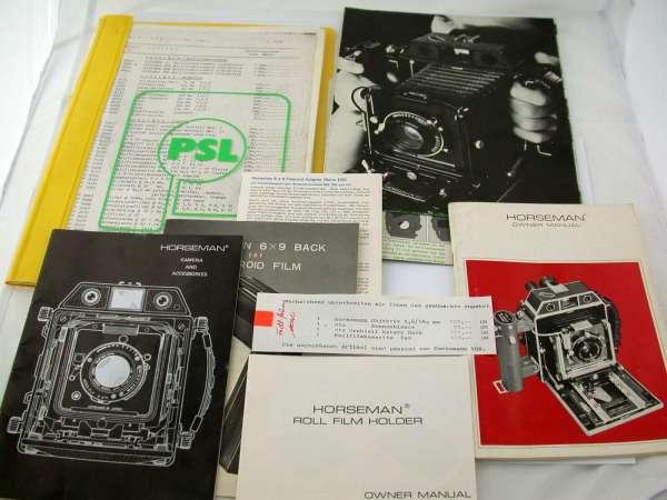 HORSEMAN 985 Multiformat 6x9 Rollfilmkamera großformatige Bewegungen