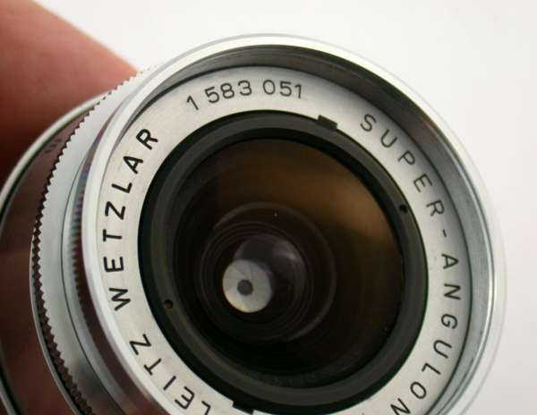 Leica Super-Angulon M39 Leitz Wetzlar