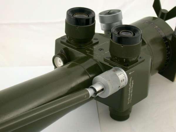 Periskop NVA Zeiss-Technik Ost P38 20x 40x komplett