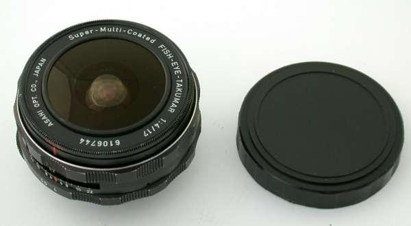 PENTAX S-M-C Fish-Eye-Takumar 4/17 17 17mm F4 M42