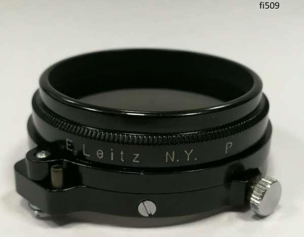 Orig Leica Leitz 2/50 New York Objektiv Filter Polfilter