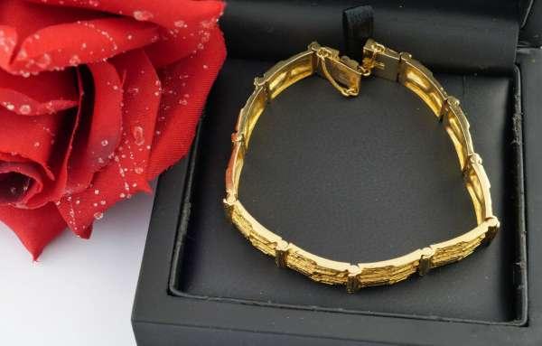 LAPPONIA Cascade bracelet 750 gold Björn Weckström 31 gr top 17cm