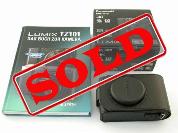 PANASONIC DMC-TZ101 prime compakt-camera 1 Inch MOS extras!