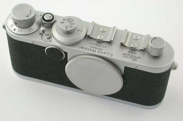 LEICA Ic body M39 LTM 458441 1949/50 near new sharkskin