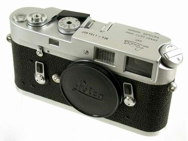 Leica M4 chrome werkstatt überholt Leitz Wetzlar Germany