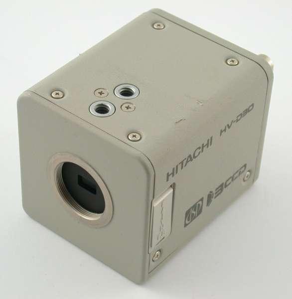 HITACHI HV-D30 video camera 3CCD c-mount DSP color NTSC security cam