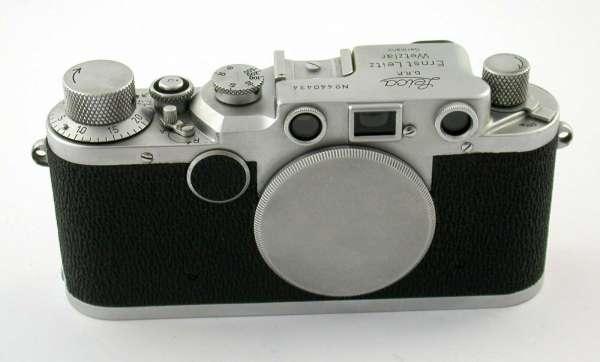 LEICA IIc 1948 no. 440434 body sharkskin LTM M39 Collector
