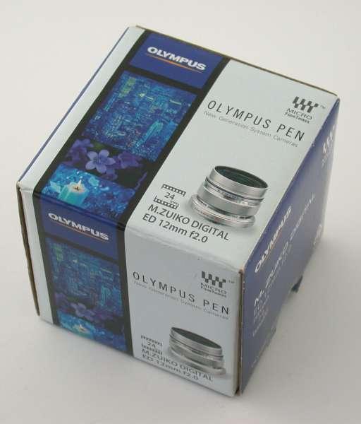 OLYMPUS MFT M.Zuiko Objektiv digital F2 12mm ED neu aus Insolvenz