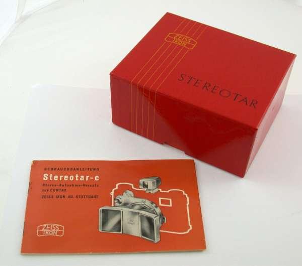 ZEISS IKON Stereotar-C Contax IIa IIIa 810/01 810/02 NEW in box oldstock