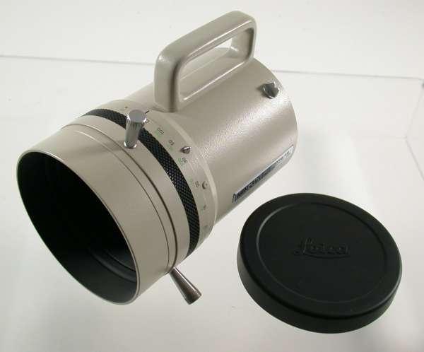 Minolta MD RF F8/800 mm last version adaptable EOS A7 MFT NEX top