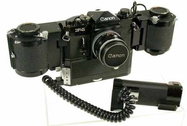 Canon F1 alt US Verteidigungsministerium sehr selten